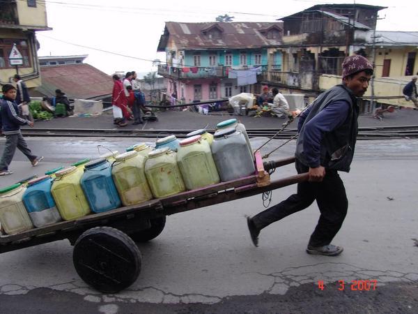Darjeeling Water Crisis