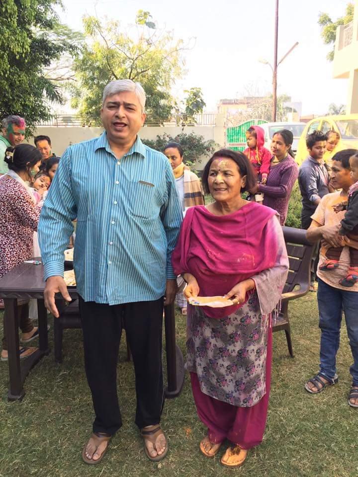 Draupadi Ghimire Sunil Chhetri