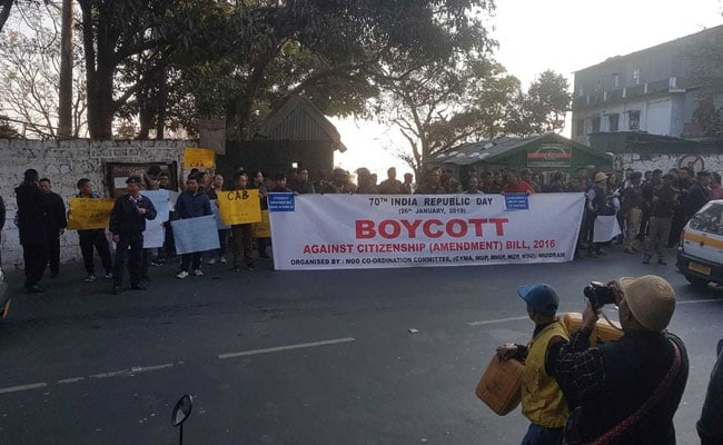 Mizoram Boycotts Republic Day