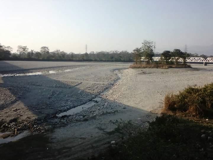Mining at Torsa River