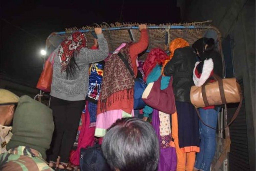 Nepalese Women Rescued