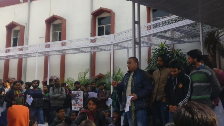 Protest turns violent at Jamia University [Pic via:]