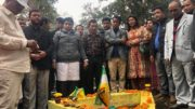 [Pic by Nand Poudel GJM (BT) faction commemorating Balidan Diwas at Sibchu]