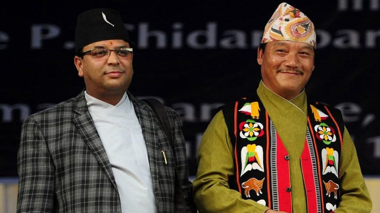 Bimal Gurung Roshan Giri