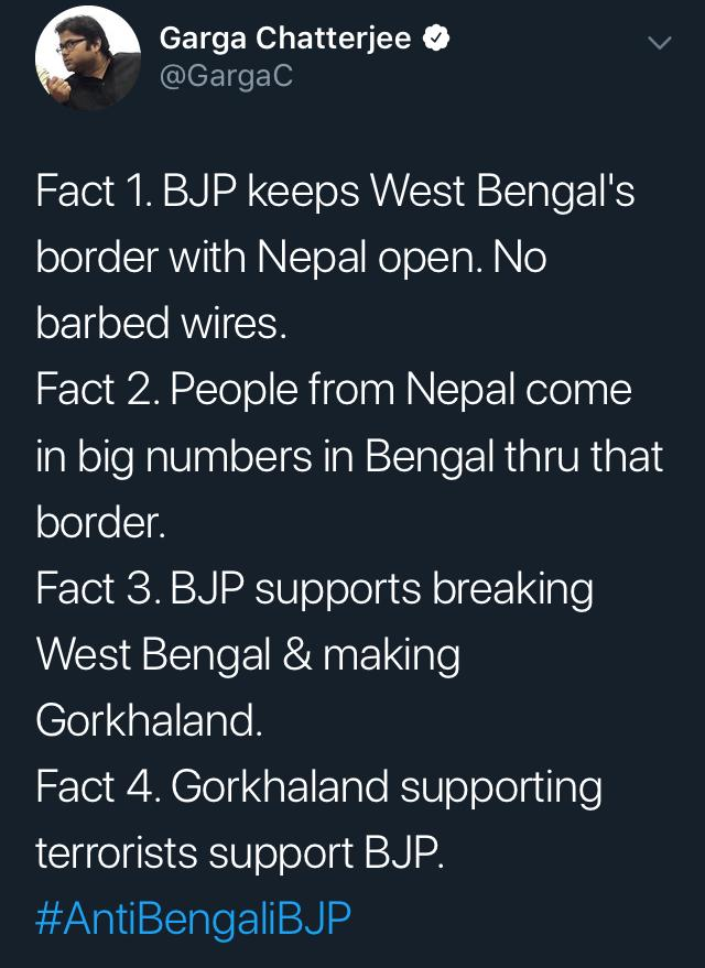 President's Rule in Bengal