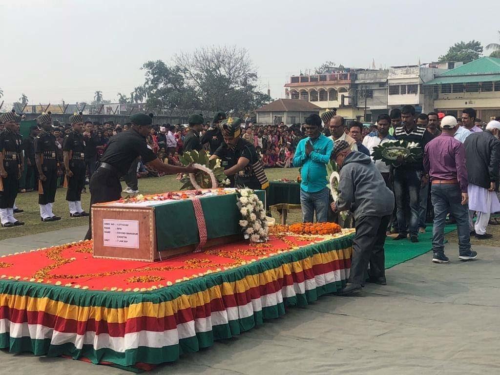 Govind Bahadur Chettri Rally