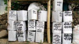 Trimel Samaj: Free Dustbin distribution