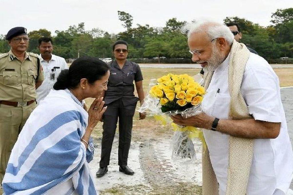 Mamata Banerjee Narendra Modi