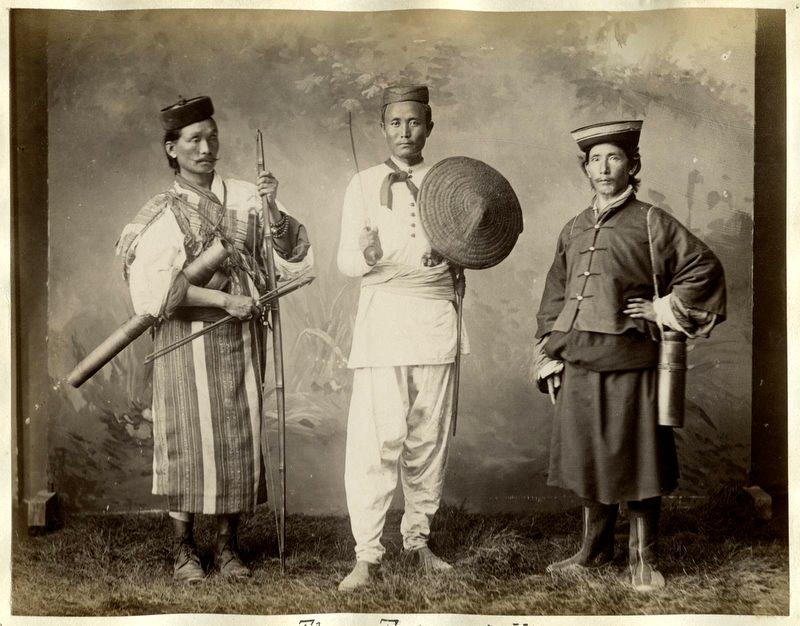 Lepcha, Nepali and Bhutia