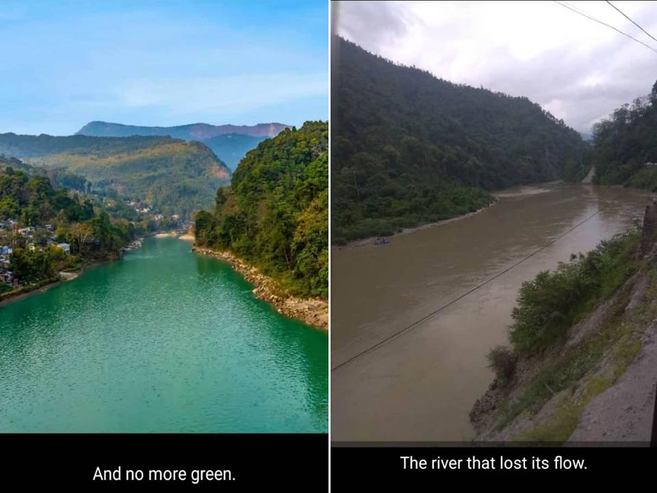 Teesta Before and After