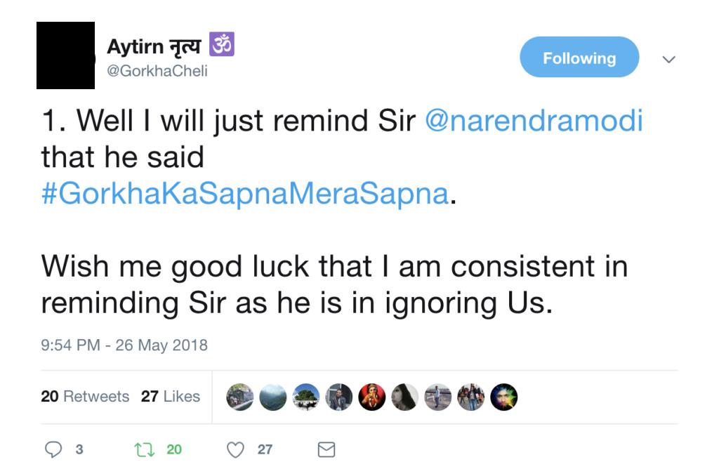 Gorkhacheli on Twitter
