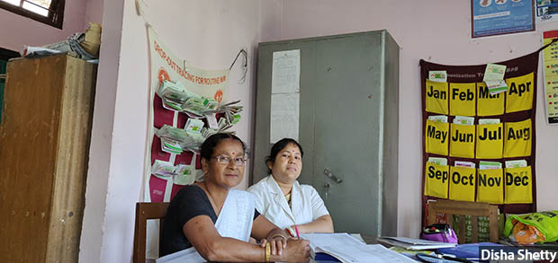 Arundhati-Das-52-an-ASHA-worker-at-Bhojkhowa-health-sub-centre-and-her-colleague-Meera-Bhuyaa-31.-620