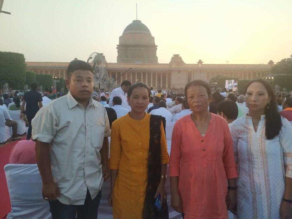 Families of Gorkhaland Martyrs at Modi 2.0