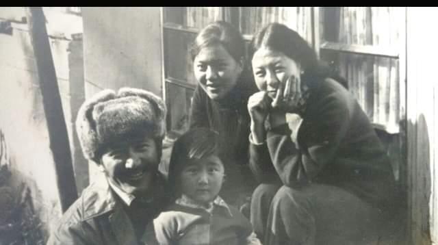 Nawang Gombu family