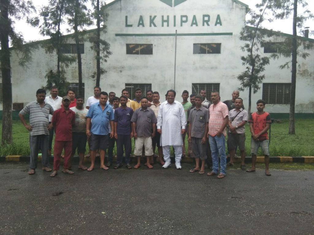 John Barla at Lakhipara