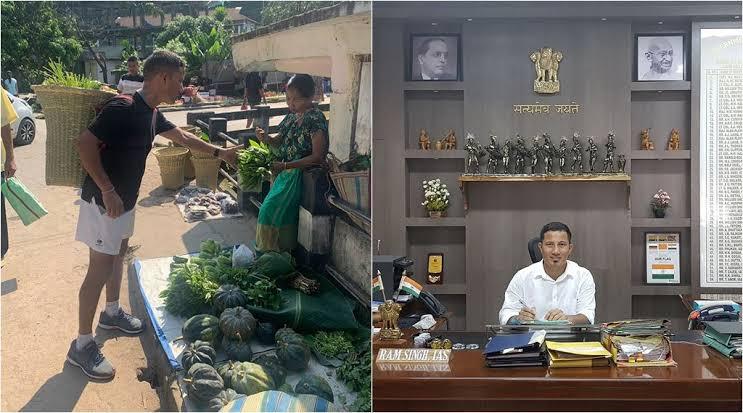 Meghalaya IAS Officer Ram Singh