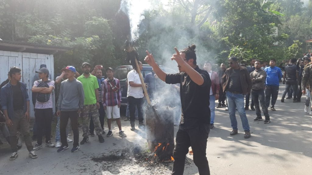 Atatck on Darjeeling MP