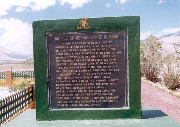 Brave 13 Kumaon Regiment