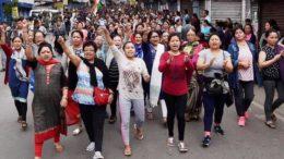 Darjeeling Protest