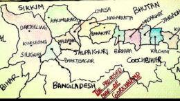 Proposed Map of Gorkhaland