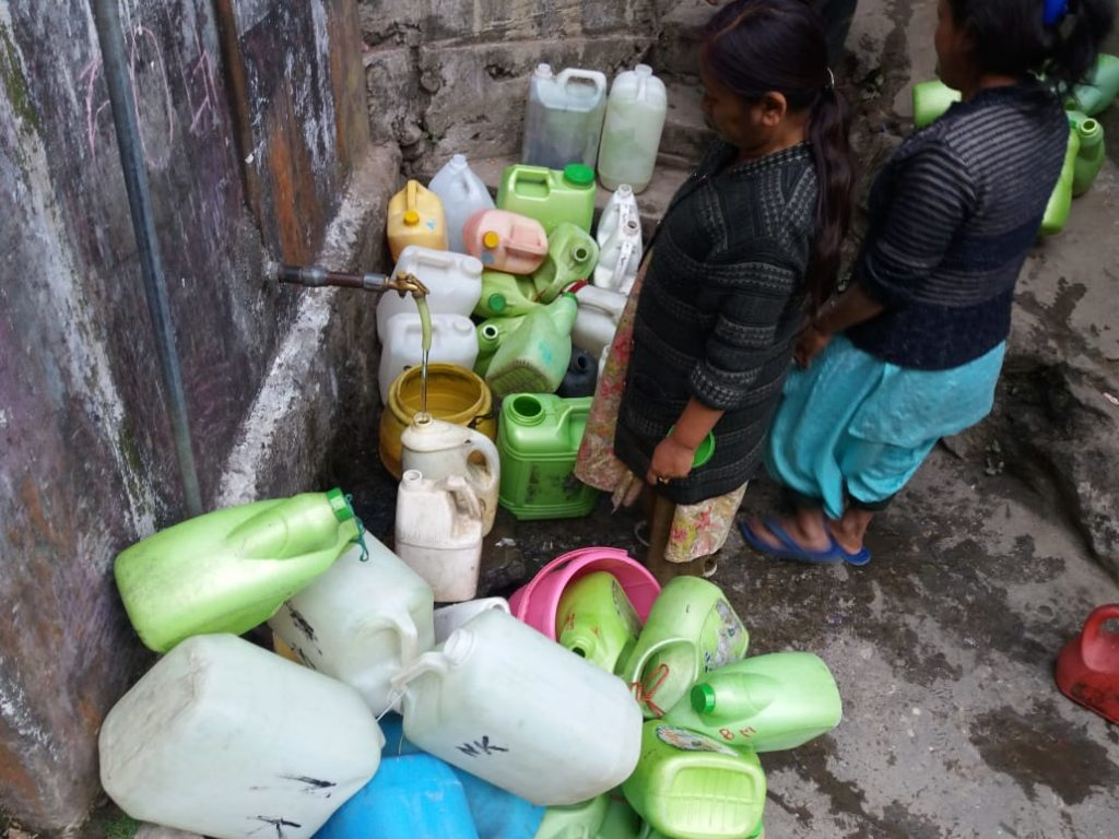 COVID19 Darjeeling Water Crisis