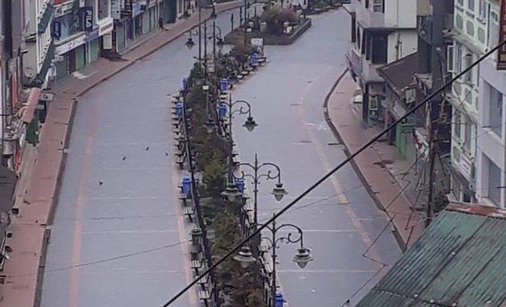 Pandemic COVID19 Gangtok