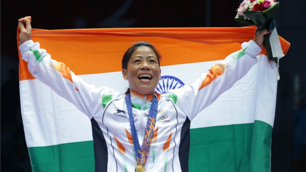 Mary Kom is the only boxer to win eight World Championship medals