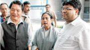 Bimal Gurung with Mamata Banerjee