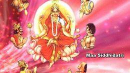Maa Siddhidatri