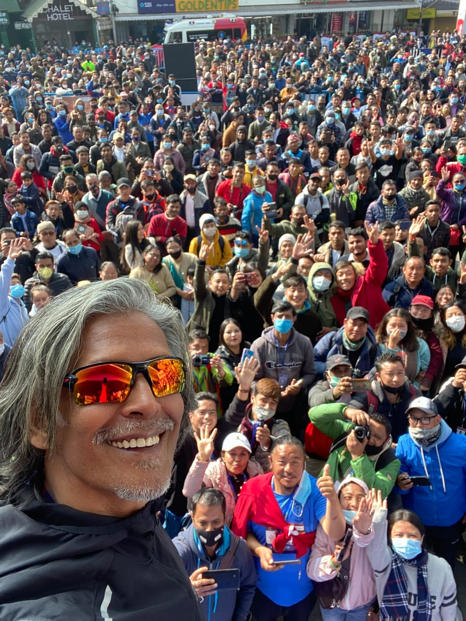 Milind Soman - Darjeeling Run